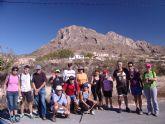 Arranca el programa de senderismo organizado por la Concejalía de Deportes con una ruta por el municipio de Fortuna
