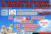 El próximo sábado 27 de septiembre tendrá lugar el II Concierto Benéfico El Refugio del Viento