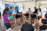 Diez parejas de buceo inician la competici�n del Campeonato Nacional de V�deo Submarino