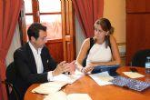 Entrevista de la Alcaldesa de Archena con el Presidente de SEGITTUR para conseguir financiación para la mejora del sector turístico del municipio