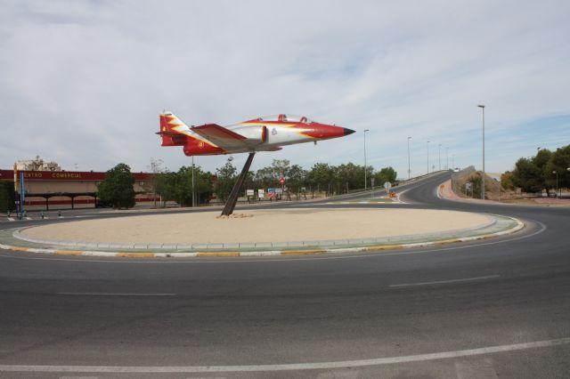 Torre-Pacheco celebra el 178 aniversario de la constitución de su Ayuntamiento con la inauguración de la Rotonda de la Academia General del Aire - 1, Foto 1