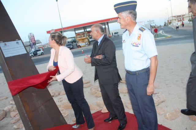 Torre-Pacheco celebra el 178 aniversario de la constitución de su Ayuntamiento con la inauguración de la Rotonda de la Academia General del Aire - 2, Foto 2