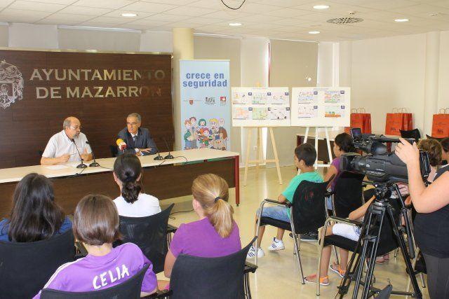 Tres niños mazarroneros participarán en la fase final de la campaña regional Crece en seguridad - 3, Foto 3