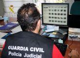 La Guardia Civil detiene a un vecino de San Pedro del Pinatar por tenencia y distribución de pornografía infantil a través de internet