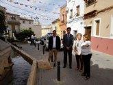 Juan Carlos Ruiz muestra su compromiso para promocionar la oferta de turismo de interior de Pliego ligada a Sierra Espuña