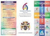 El Ayuntamiento de Alguazas ofrece 17 escuelas y actividades deportivas para el nuevo curso 2014-2015