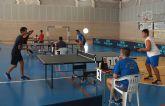 Las Torres de Cotillas estrena su liga de tenis de mesa para aficionados
