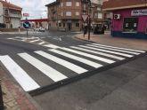 Concluye en Las Torres de Cotillas la mejora de la seguridad vial de varias calles locales