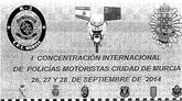 Archena acogerá la I Concentración Internacional de Policías Motoristas Ciudad de Murcia