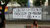 IU-Verdes y Juventudes Comunistas de Molina de Segura protestan contra una agresión fascista