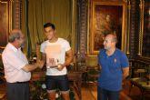 Chiky Ardil es homenajeado por el ayuntamiento tras proclamarse Campe�n de Europa