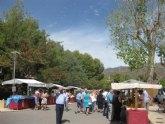El mercadillo artesano de La Santa congrega a numeroso público el pasado domingo
