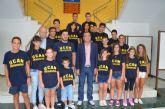 David Cal apadrinó ayer en San Javier el UCAM Escuela de Piragüismo Mar Menor