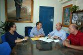 Convenio de colaboración entre el Ayuntamiento de Alcantarilla la Asociación de Empresarios del Parque Empresarial Oeste