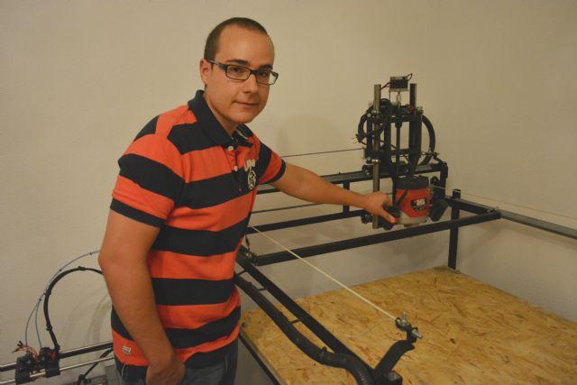 Un alumno de la UPCT cuelga en una web los artilugios que diseña y fabrica en casa - 1, Foto 1