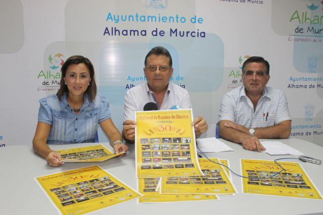 El Festival de Bandas de Música cumple 30 años en la Feria de Alhama de Murcia, Foto 1
