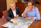 El Ayuntamiento y la CHS se reúnen para agilizar la ejecución del interceptor de aguas pluviales de la zona norte