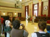 El grupo folclórico Con De Xido de Cambados (Galicia) visita Murcia invitados por la Peña Huertana El Corrental