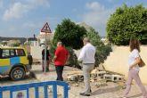 Emergencias municipales restablecen la normalidad en Camposol tras una fuerte tromba de agua
