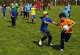 Los jóvenes de Las Torres de Cotillas se inician en el 'rugby touch'