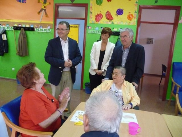 The Institute of Social Action Murciano spends more than a million euros for elderly care in the town of Totana