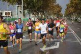 El murciano, Fernando Villegas y la gallega Cristina González se impusieron en la Media Maratón 'Villa de San Javier'