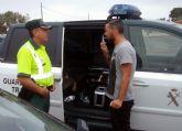 La Guardia Civil detiene al conductor de un turismo por circular en sentido contrario más de 3 kilómetros