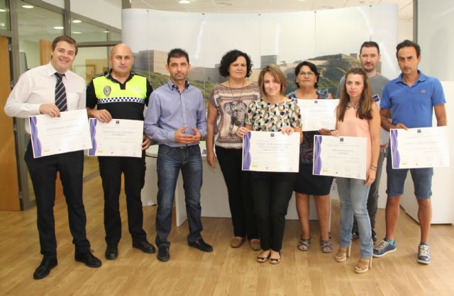 Nueve empresas de Puerto Lumbreras reciben el distintivo de Calidad Turística SICTED - 1, Foto 1