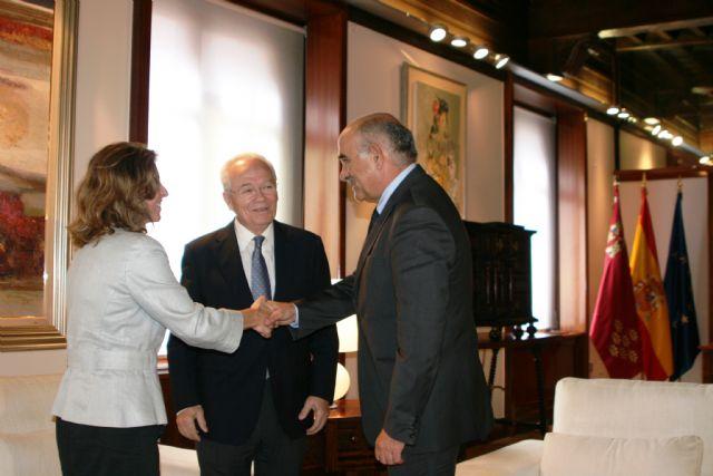 Garre recibe al presidente de la Fundación Proyecto Hombre - 1, Foto 1