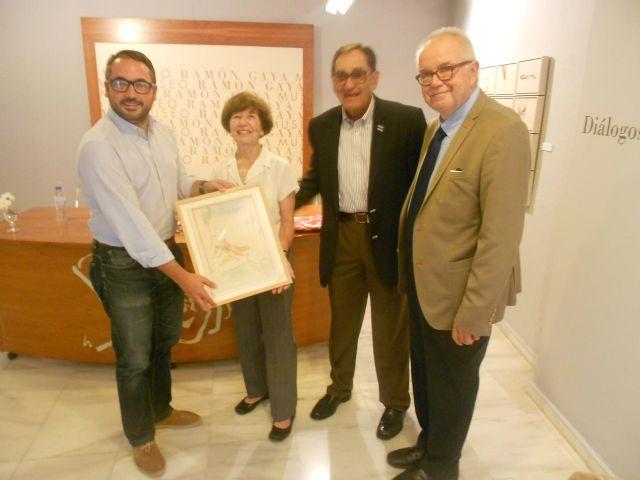 Un matrimonio mejicano dona dos calendarios y una acuarela de Ramón Gaya a su museo - 1, Foto 1