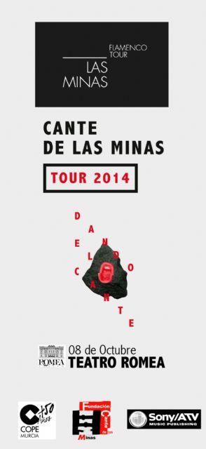 Las minas flamenco tour presenta la gira nacional ´dando el cante´, con los mejores artistas del festival internacional del cante de las minas - 3, Foto 3