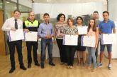 Nueve empresas de Puerto Lumbreras reciben el distintivo de Calidad Turística SICTED