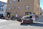 Siguen los trabajos de embellecimiento y mejora de los servicios por los barrios de Águilas
