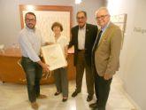 Un matrimonio mejicano dona dos calendarios y una acuarela de Ramón Gaya a su museo