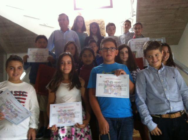217 alumnos de 5° de Primaria de 12 colegios de Lorca participan en el concurso 'Crece en Seguridad' - 1, Foto 1