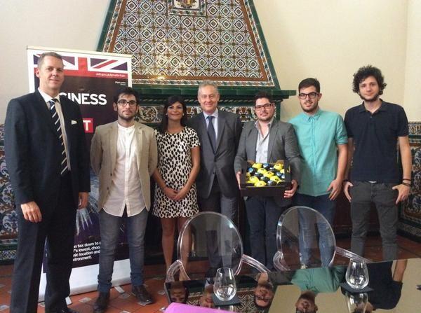 JSRM le traslada al embajador británico en España su preocupación por la emigración juvenil - 1, Foto 1