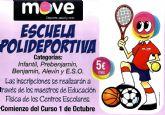 Comienza el programa Escuela Polideportiva 2014/15 con un amplio abanico de modalidades deportivas en los colegios de Totana
