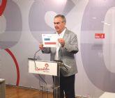 González Tovar: 'Son los presupuestos de las migajas para la Región de Murcia'