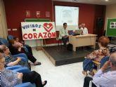 El geriatra Juan Dionisio Avilés inaugura el mes de las personas mayores en el Centro de Día