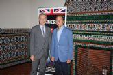 El Alcalde se entrevista con el Embajador de Reino Unido