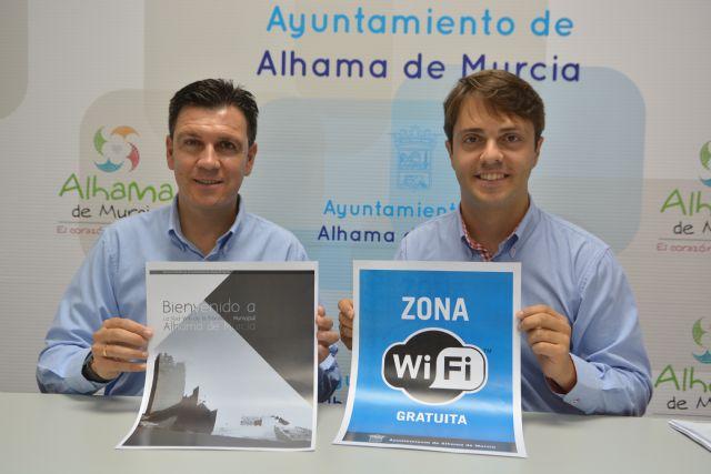 La Concejalía de Nuevas Tecnologías pone en marcha 'Alhama wifi' dentro su proyecto 'Smart City', Foto 1