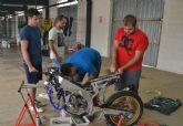 Estudiantes de la UPCT participan este fin de semana en Alcañiz en la competición internacional MotoStudent