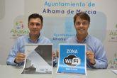 La Concejal�a de Nuevas Tecnolog�as pone en marcha 'Alhama wifi' dentro su proyecto 'Smart City'
