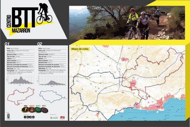 Mazarrón ofrece dos nuevas rutas ciclistas BTT, Foto 1