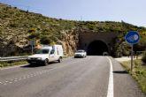 El lunes se cortará totalmente el tráfico en la carretera de Cala Cortina por las obras