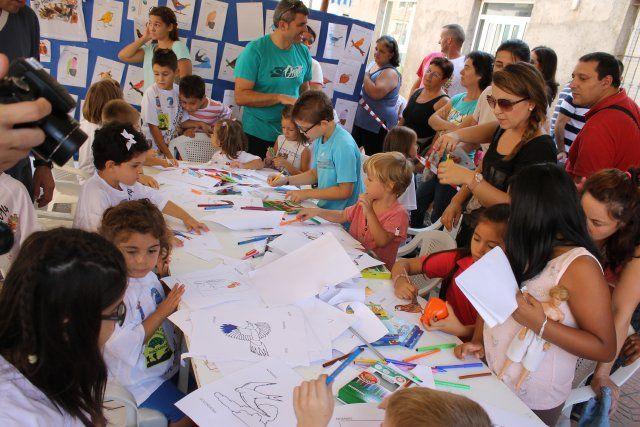 Más de un centenar de niños participa en las actividades del Día Mundial de las Aves, Foto 2