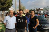 El alcalde recibe a la primera de las expediciones de los alumnos de arquitectura de la UPCT