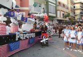 Luz y color con el tradicional Desfile de Puerto Lumbreras´14 en el que han participado cerca de 30 carrozas y grupos de animación