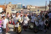 Puerto Lumbreras acoge la tradicional Ofrenda Floral a la Virgen del Rosario' 2014