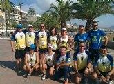 Atletas del Club Atletismo Totana participaron en la 4º Media maratón y 10 km Bahía de Mazarrón